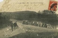 Les bords de la Garonne Agen - Boé