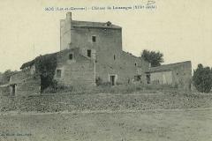 Le château de Lacassagne - Boé