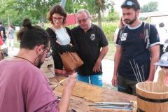 Fabrication de perles de verre