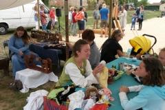 Atelier « Mounaques », fabrication de poupées de chiffon