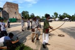 Déploiement des archers…