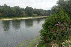 Vue de la Garonne depuis Boé Village